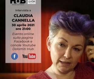 Intervista online a Claudia Cannella.
